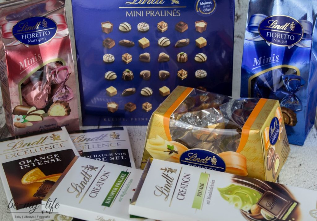 Lindt Chocoladenclub Paket April 2016 Inhalt