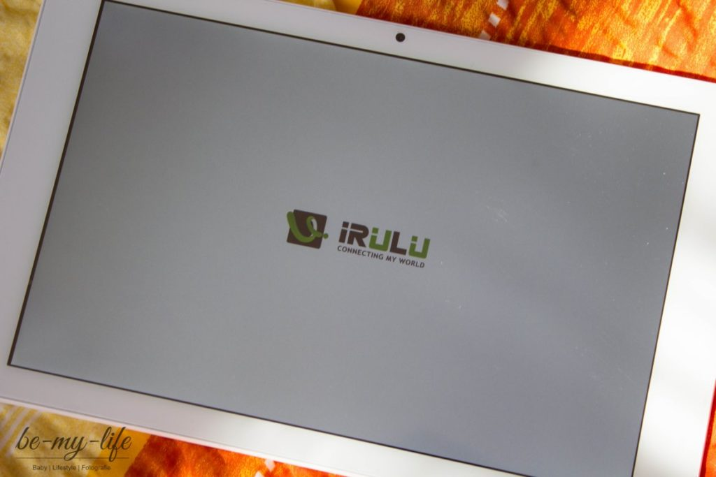 Irulu eXpro 4 Plus Tablet Start