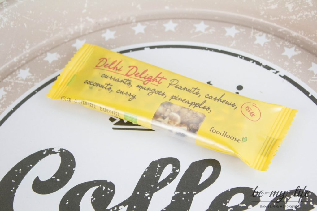 "foodloose Bio-Nussriegel ""Delhi Delight"""