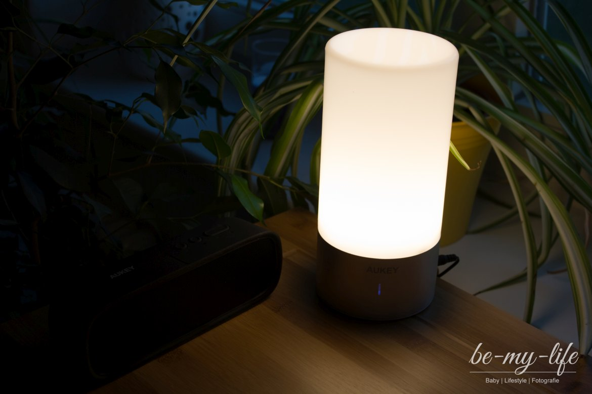 aukey-led-farbwechsel-lampe - Be-my-life | Mama & Lifestyle Blog